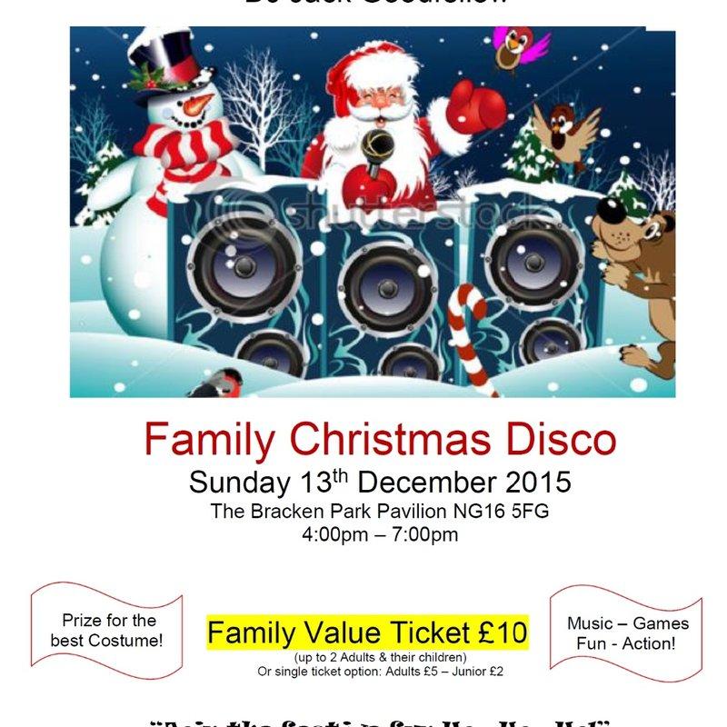 UVFC Christmas Disco 2015