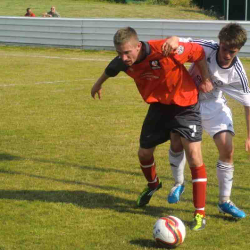 Shirebrook Town v Derby County youth - 30 July 2011