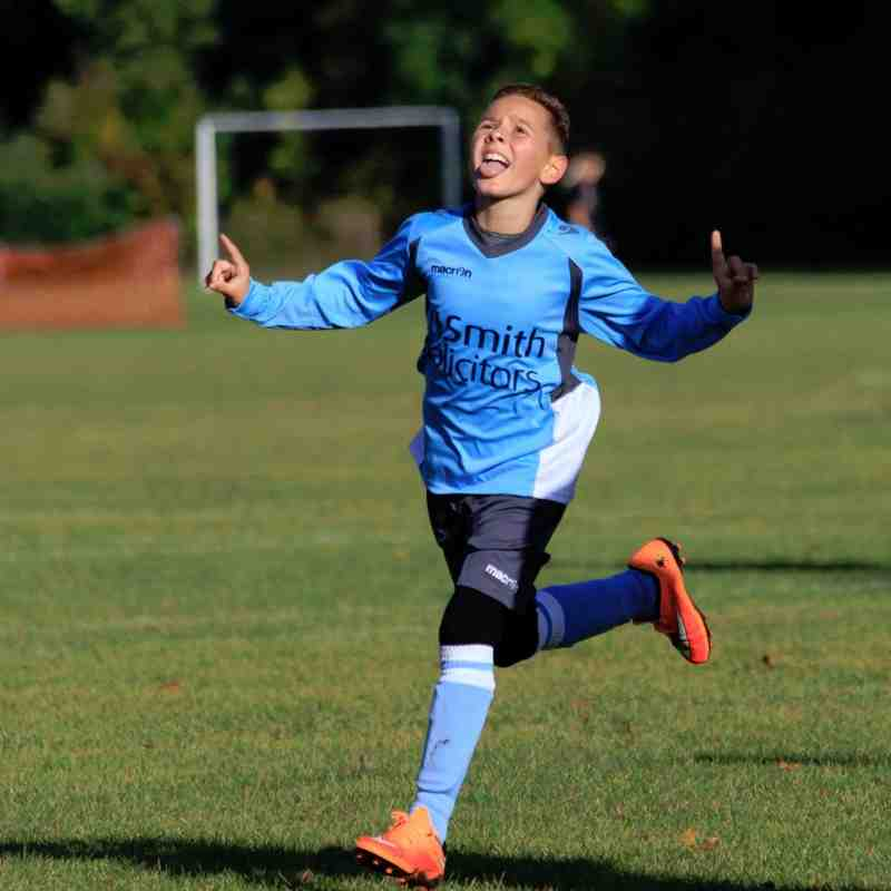 Woodley Town u10 Blues vs Eldon Celtic Lions 11/10/2014