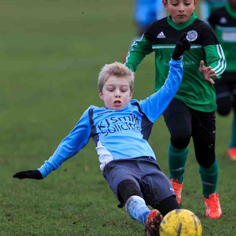 u10s Blue vs Eldon Celtic 17-01-2015
