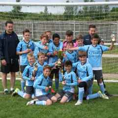 Many congratulations to U11 Spitfires - winners of their BYDL league cup final - 22/5/16