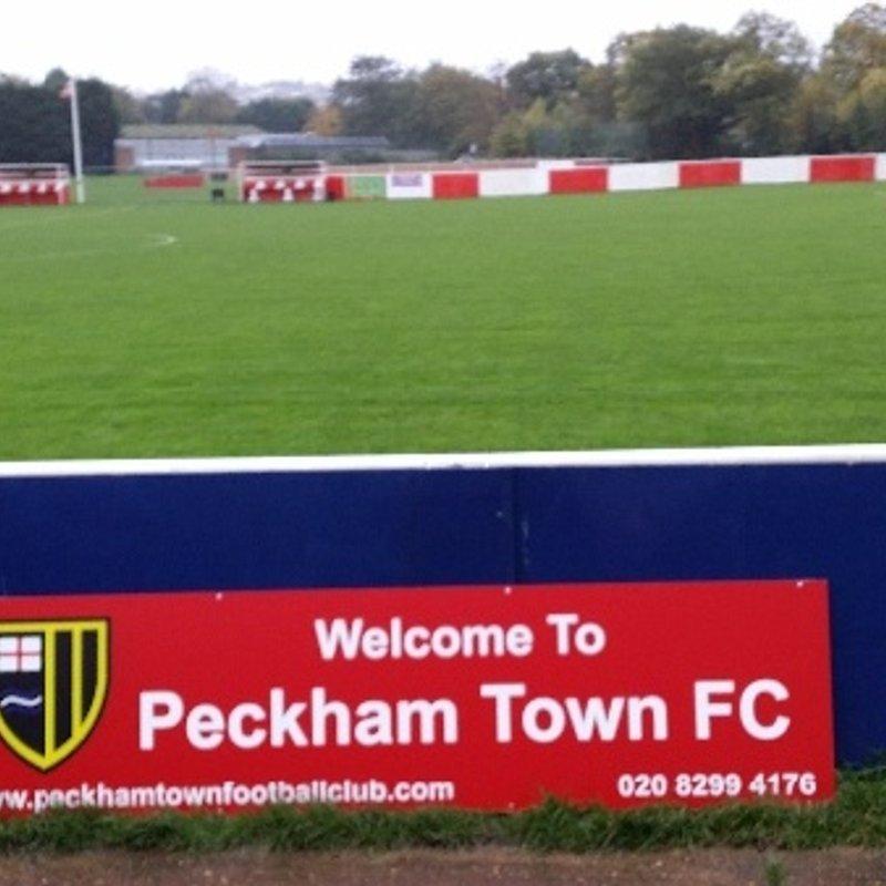 PECKHAM TOWN RESERVES beat AFC Lewisham 9 - 3