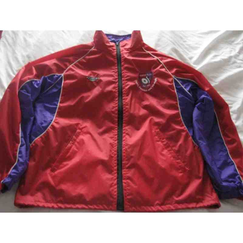 Red Windcheaters