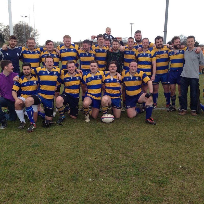 2nd XV lose to Old Whitgiftian Wanderers 77 - 0