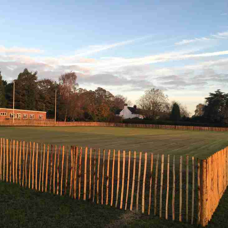 Training Pitch - November 2017