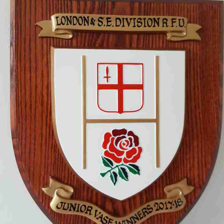 1st XV win London & South East Divisional Trophy