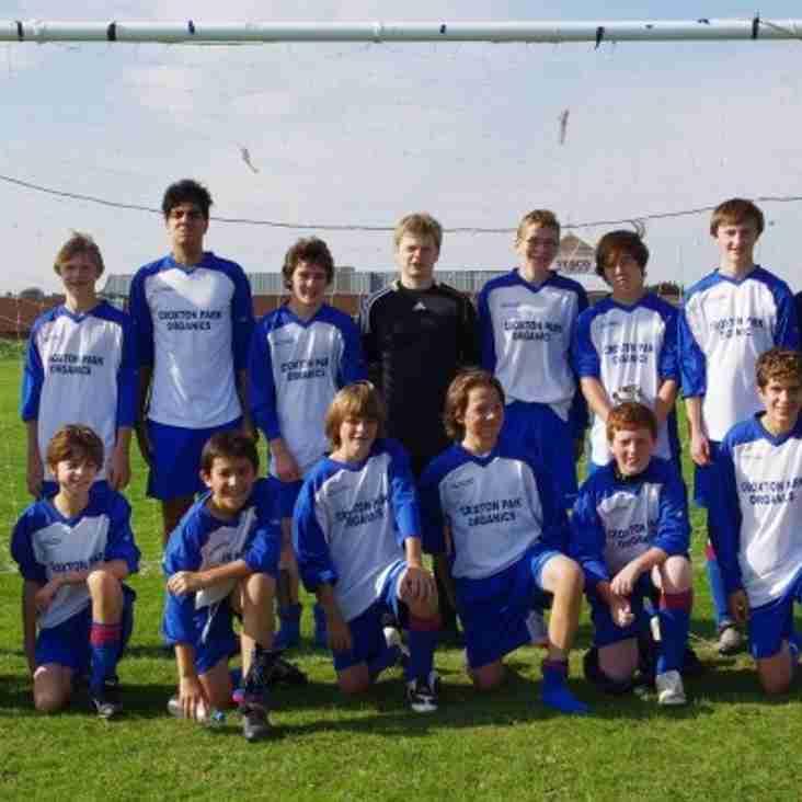 U15 2010-11 Squad Photo
