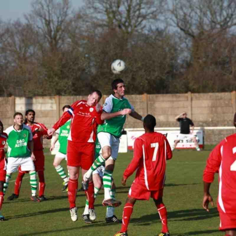 KIFL - Fixture - Ashford Utd vs Meridian FC (A) 24/3/12