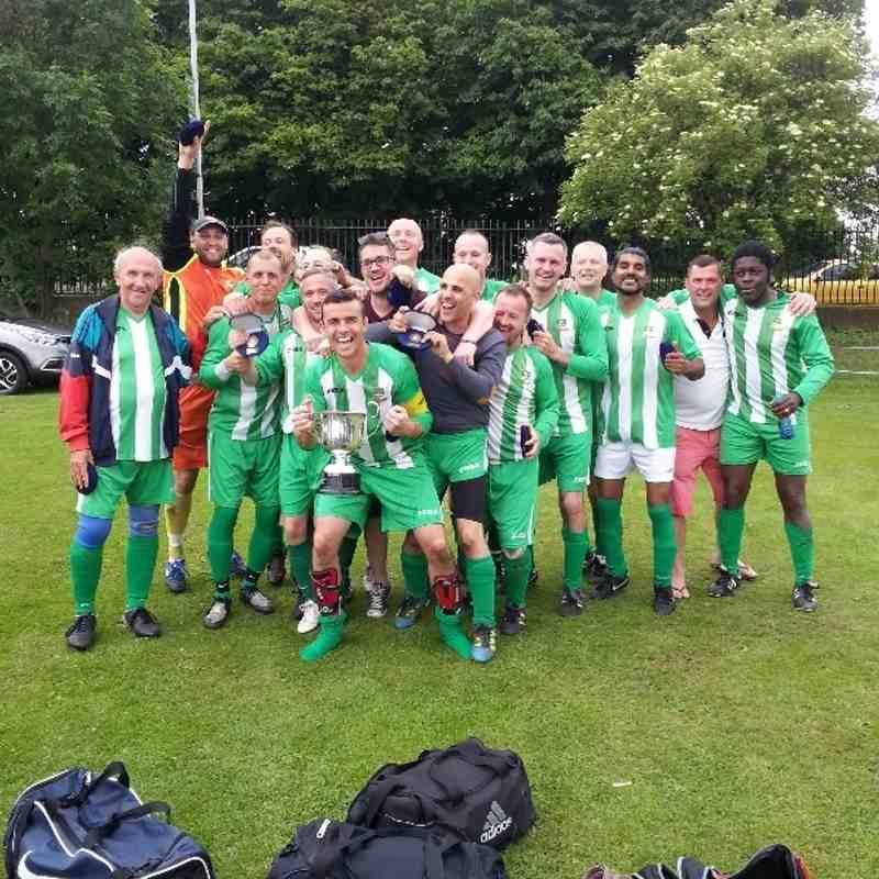 Beckenham Hospitals Charity Cup Final 2013 / 2014