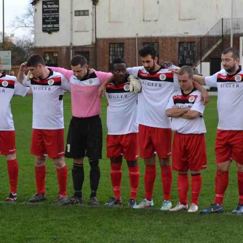 Hospital Charity Cup - Meridian VP FC vs Stansfeld O & B Club