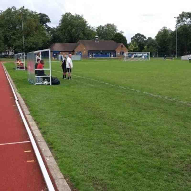 Lewisham Borough Community vs Meridian VP  -  29/8/15