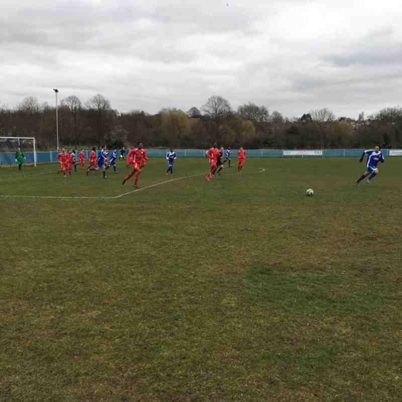 Kent Football Utd v Meridian VP  -  19/3/16