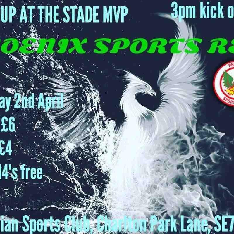 Meridian VP v Phoenix Sports Reserves - 2/4/16