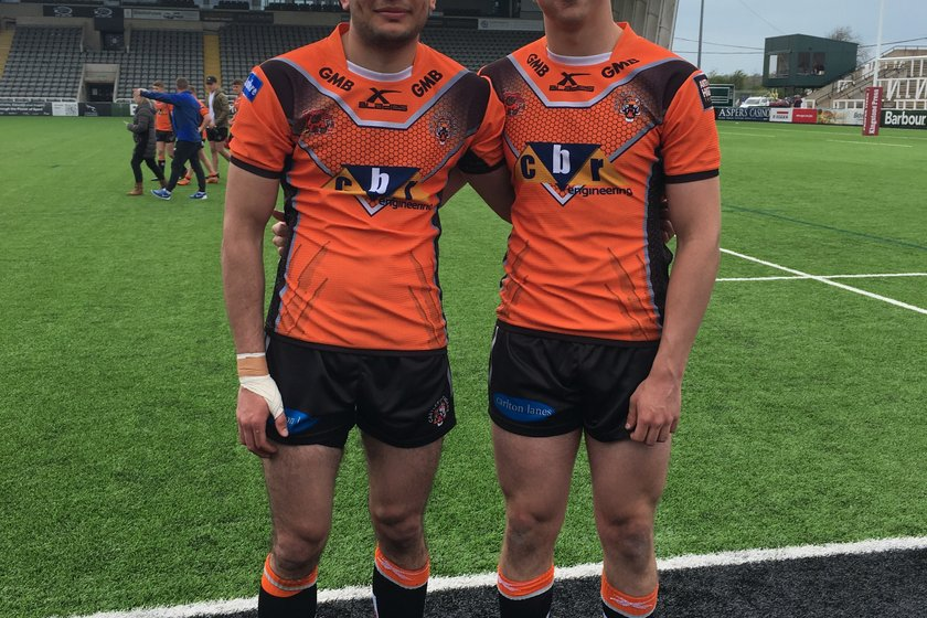 DVB U16s players in last game for Castleford Tigers Scholarship