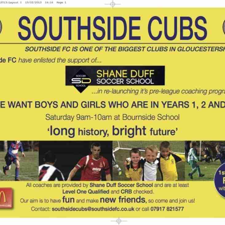 Southside Cubs relaunch