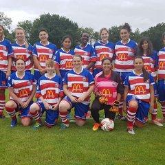 Peckham Town Ladies VS Baldon Sports Pic's
