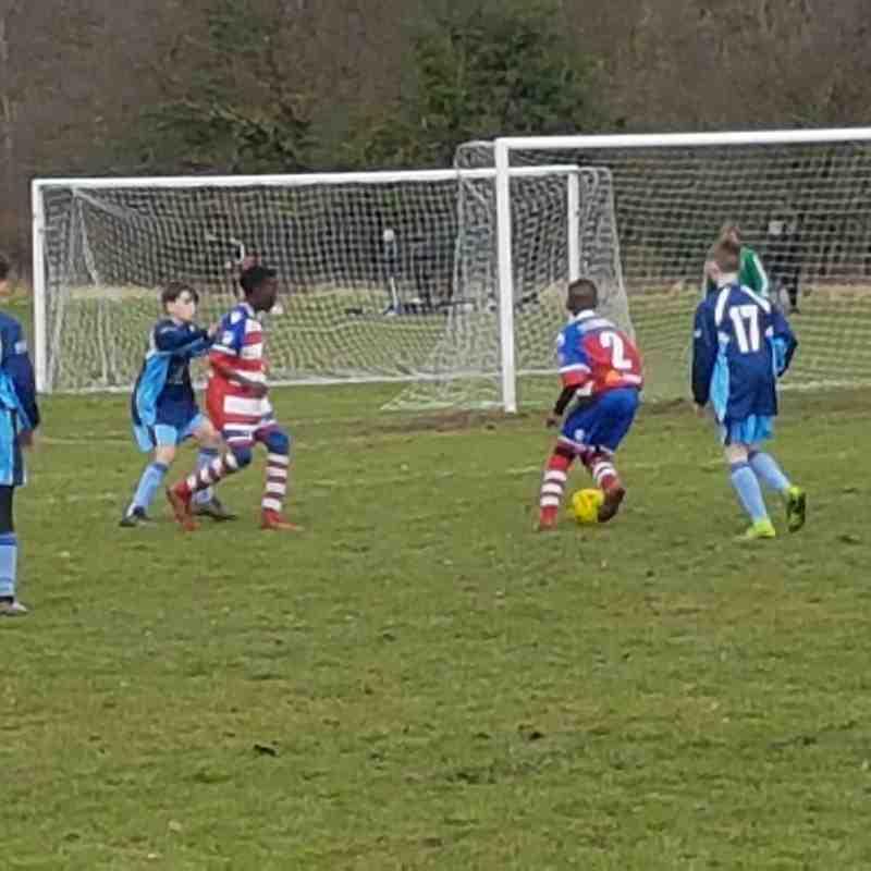PTFC U14's VS Junior Bromleians