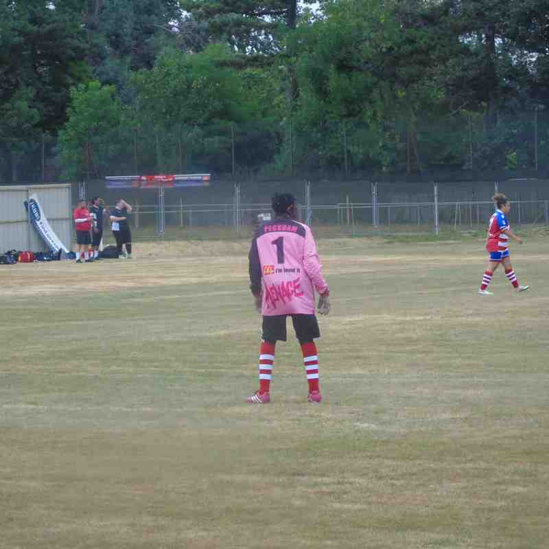 Peckham Town Ladies Friendly Match against Carshalton Ladies