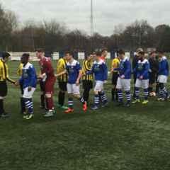 U21s pre season training