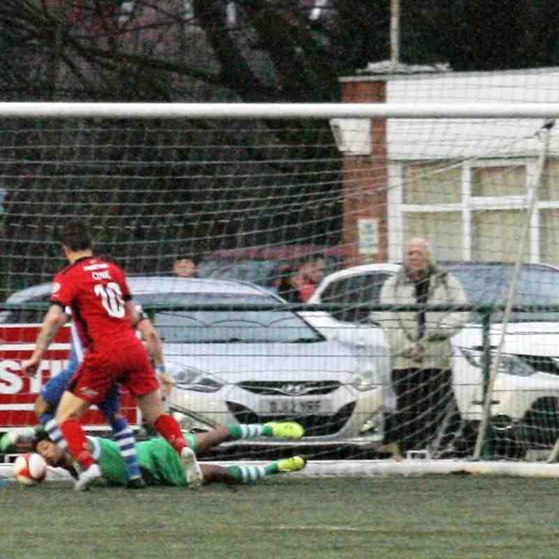 SCTFC v Barrow FA Trophy 1st Round