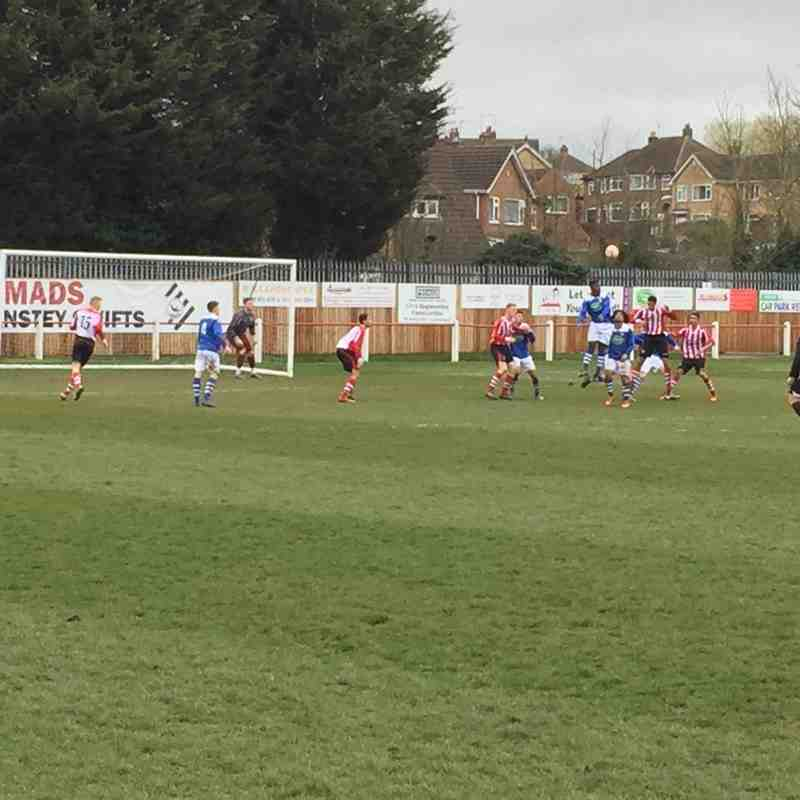 Under 21s v Anstey Nomads U21s - 26th March 2016