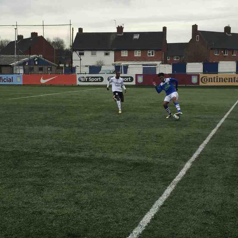 Under 21s v Tamworth U21s - 2nd April 2016
