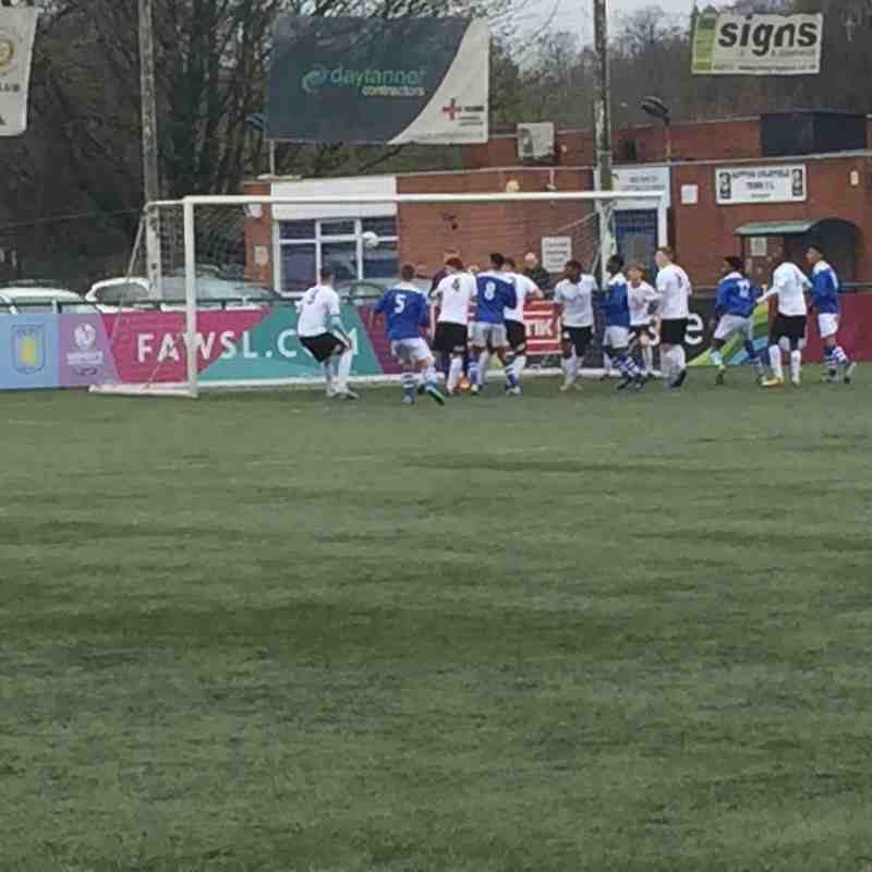 Under 21s v Tamworth U21s - 2nd April 2016
