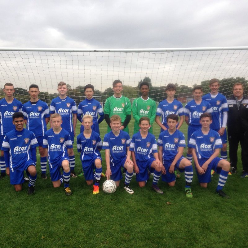 Dudley Town 'blown' away by Royals U16's