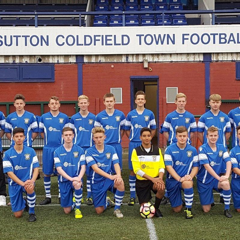 Under 18s beat Litchfield Town Academy 2 - 0
