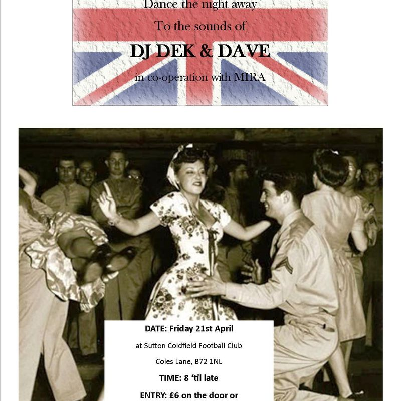 40s Night at Coles Lane on April 21st