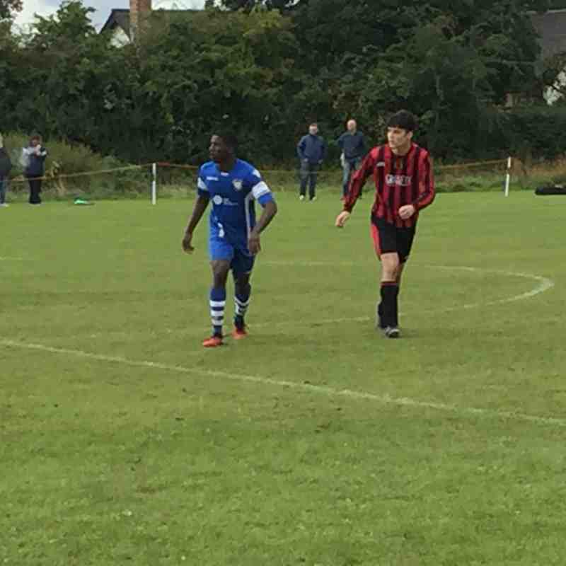 U21 v Mickleover Friendly 09-09-17