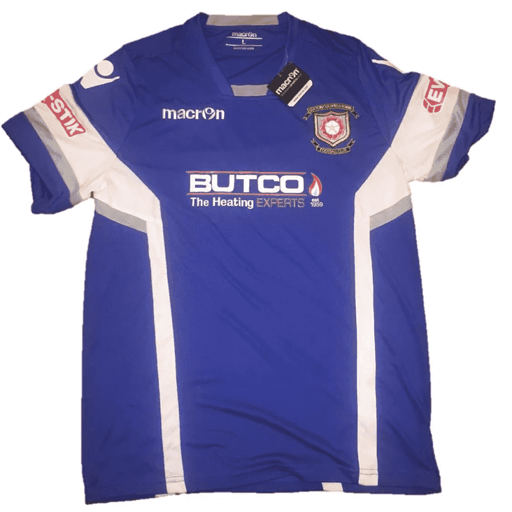 Last of 2016/2017 Home shirts available at a reduced rate!