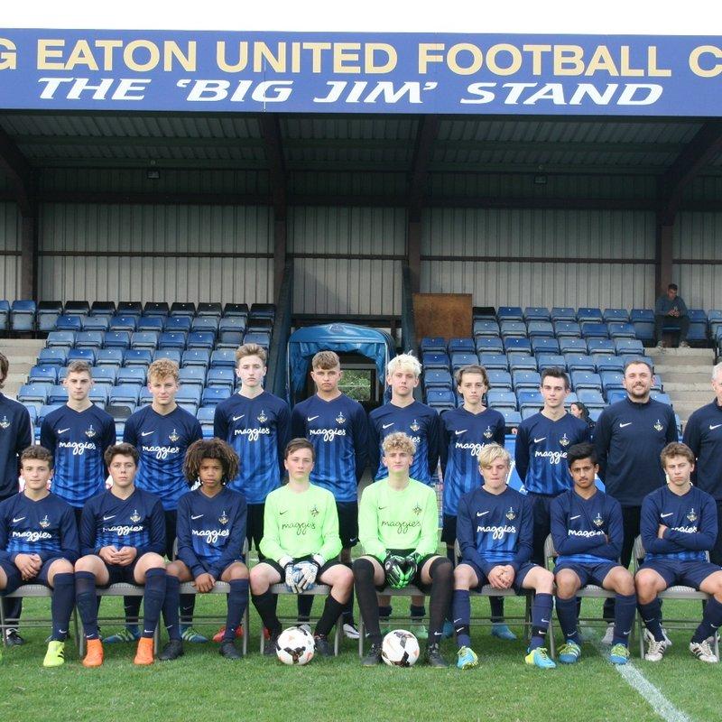U16 beat Grantham Town 5 - 0