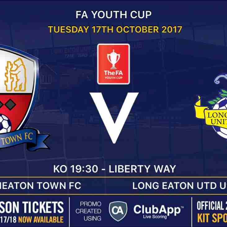 Our U18's are back in FA Youth Cup action away against Nuneaton Town tomorrow evening