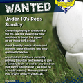 LEU U10 Red Sunday - looking for Players