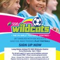 Football for Girls from 5-11 years every Wednesday evening