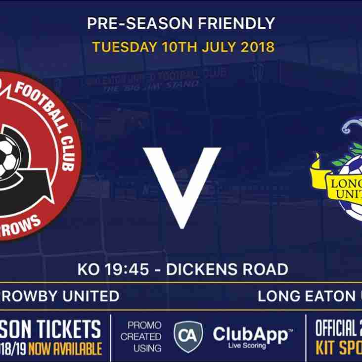 Next up for the Blues is our second pre-season game away v Harrowby United on Tuesday