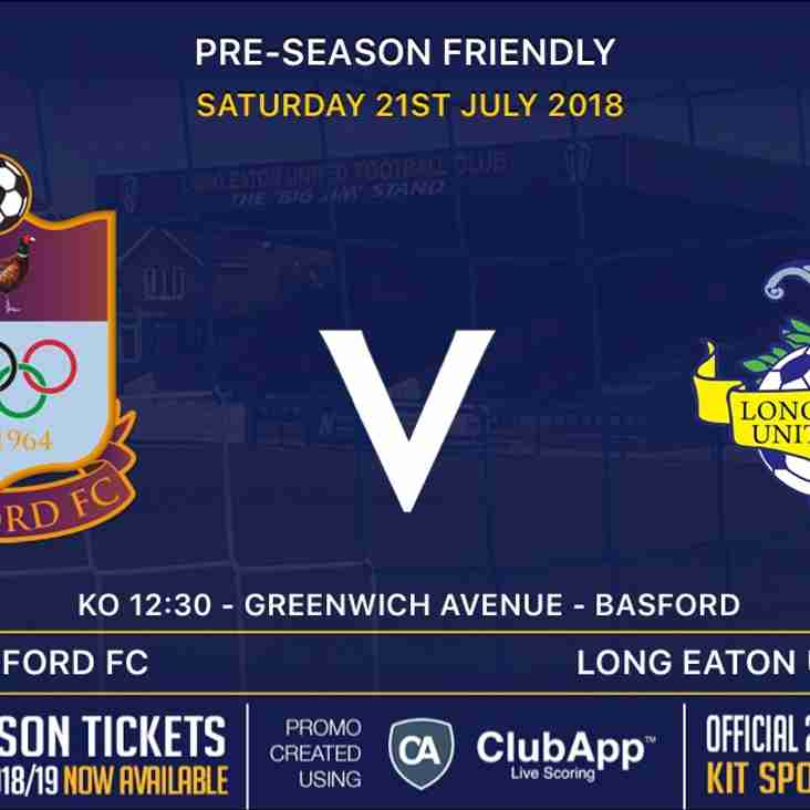 Saturday's Away game v Radford FC is now being played at Greenwich Avenue, Basford