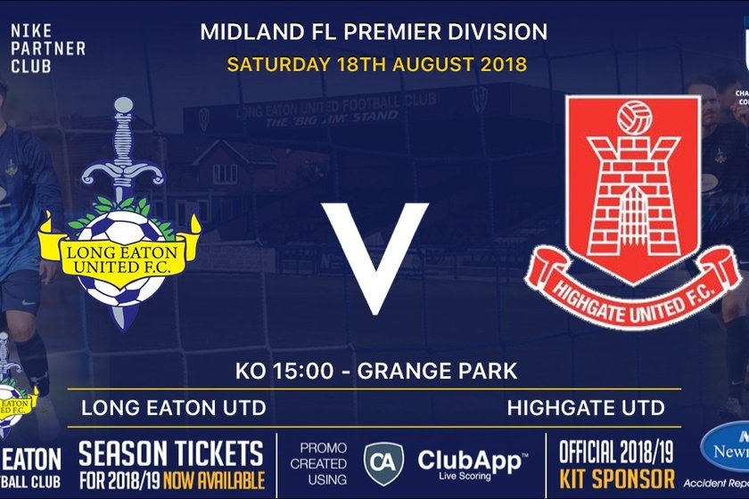 Blues look to bounce back against Highgate United on Saturday