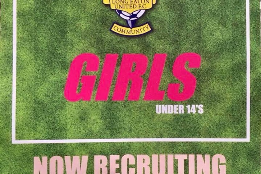 Our new Girls U14's are now recruiting