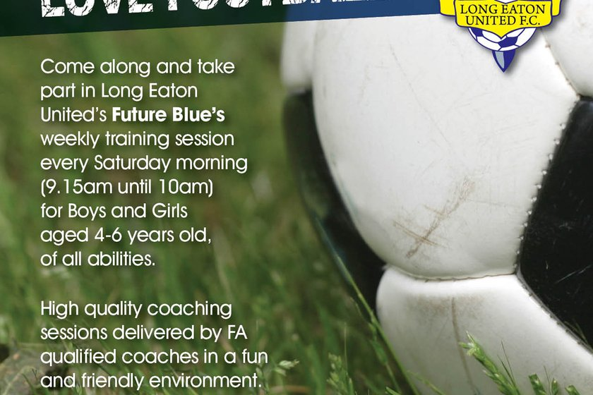 Boys & Girls in Reception and Year One - Love Football ? Come and join our Future Blues