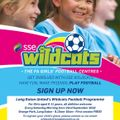 Girls aged 6 - 11 years of age - Love Football ? Come and join our Wildcats Programme