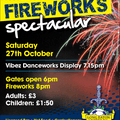 Fireworks Spectacular Date set for Saturday 27th October