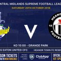 Big local Derby at Grange Park this Saturday - great day of Football !!!