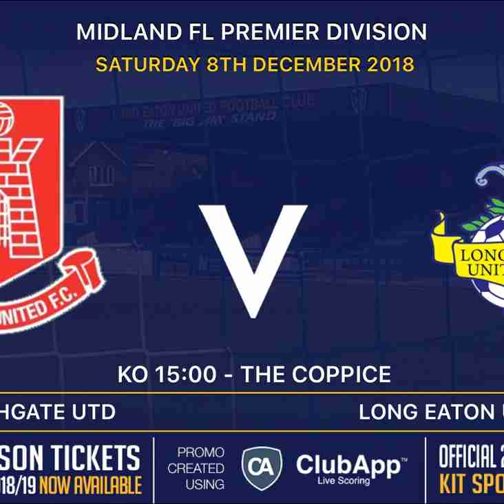 Next up for the Blues is an away trip to Highgate United