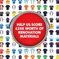 Buildbase Transfer Deal - help us try to win £25,000 of materials to improve Grange Park