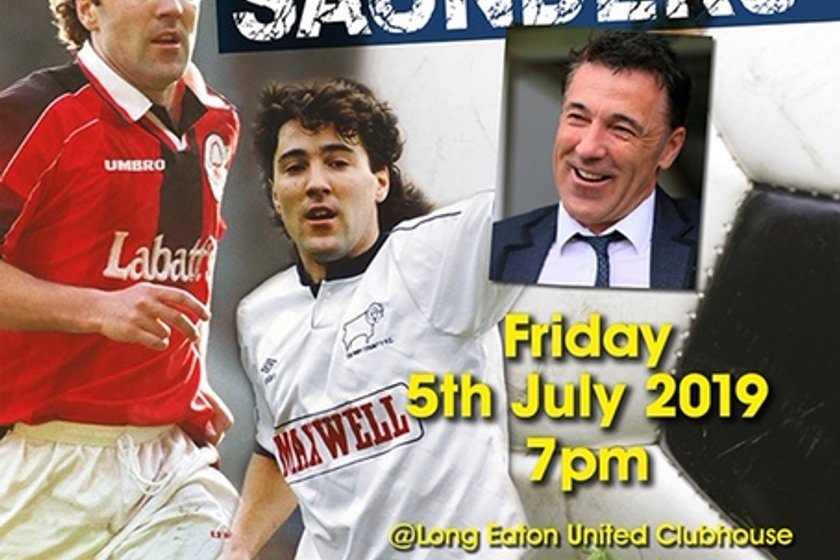 An Evening with Dean Saunders - Friday 5th July 2019