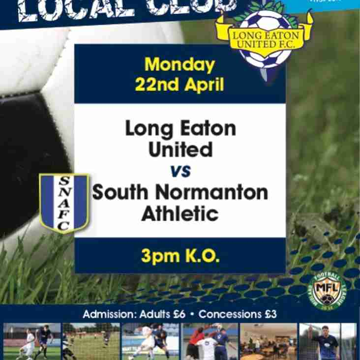 Blues take on South Normanton at Grange Park on Bank Holiday Monday - kick-off 3pm