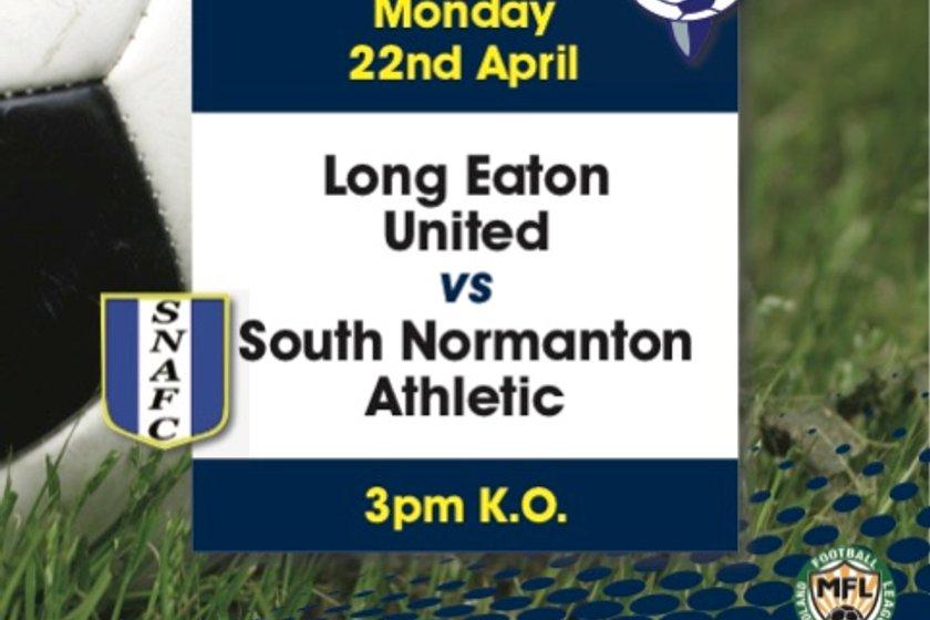 Blues take on South Normanton at Grange Park on Bank Holiday Monday - kick-off 3pm