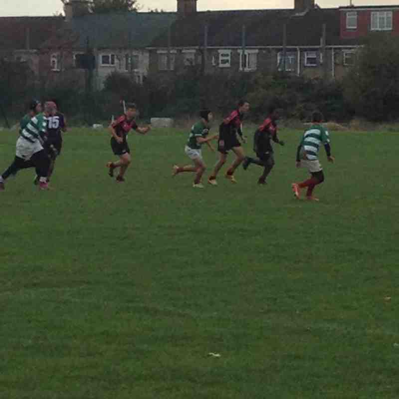 Under 14's VS Cheshunt